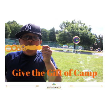 Give the Gift of Camp