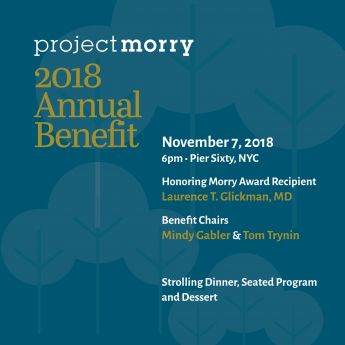 Save The Date for the 2018 Annual Benefit