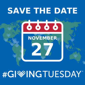 Save the Date for Giving Tuesday