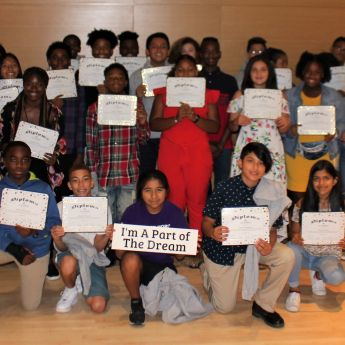 Project Morry Celebrates Middle School Program Grads