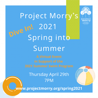 Join Us for Project Morry's 2021 Spring into Summer!