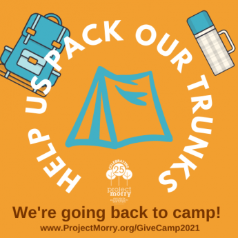 Camp is Open! Help! Us Pack Our Trunks!