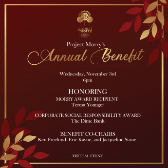 Join us for the 2021 Annual Benefit!