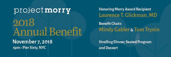 Project Morry's 2018 Fall Benefit