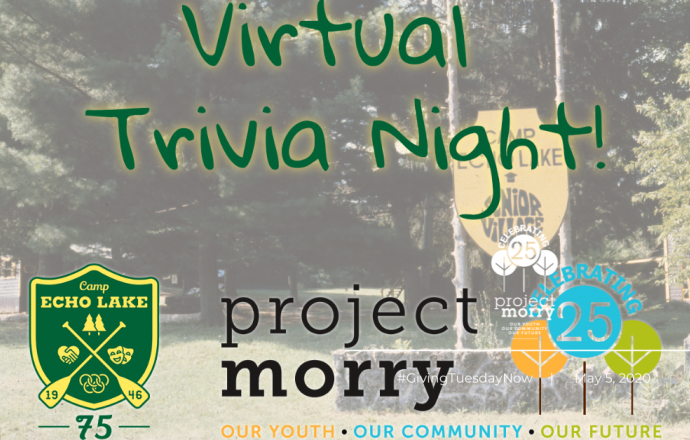 Camp Echo Lake Alumni Trivia Bowl for Project Morry!